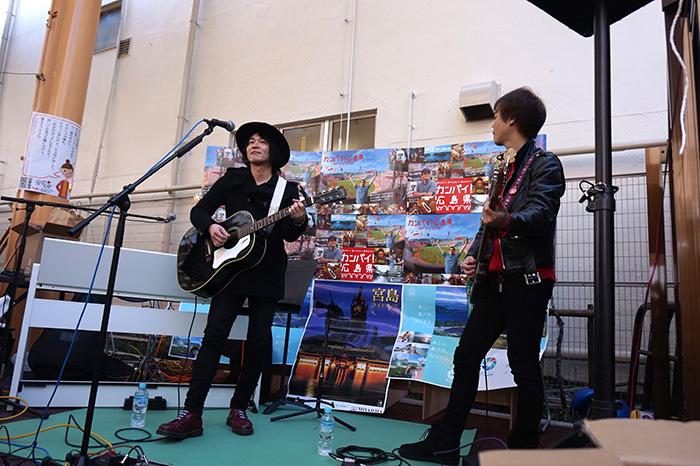間慎太郎さんのライブ