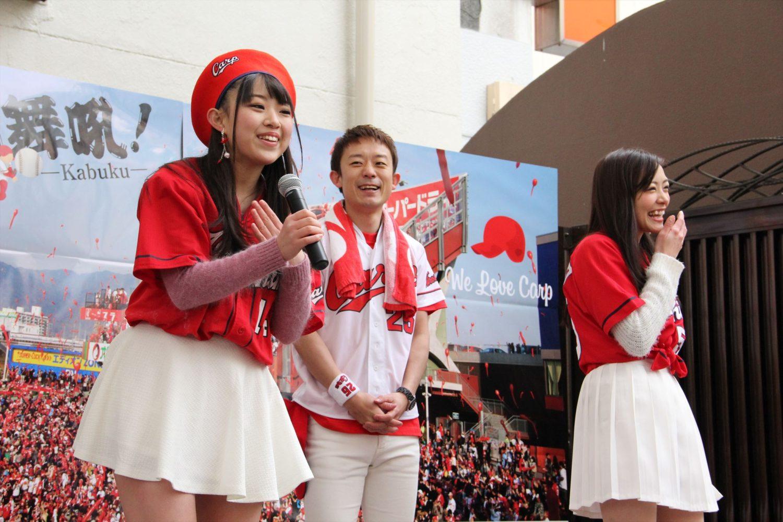 月山翔雲さん、宮脇静香さん、I LOVE U@あいり