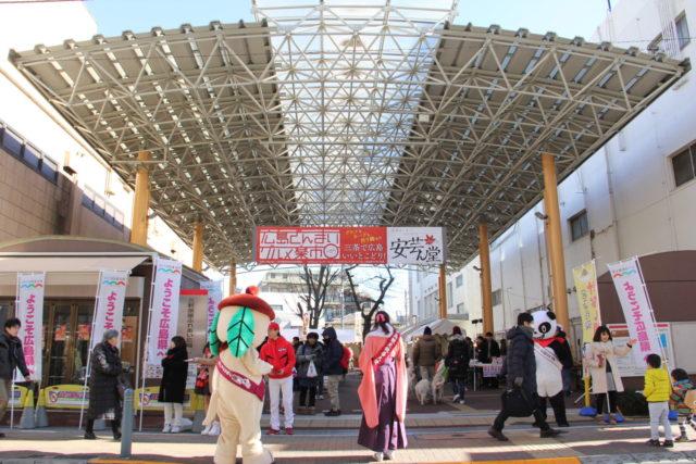 広島ざんまいグルメ楽市は快晴でした!