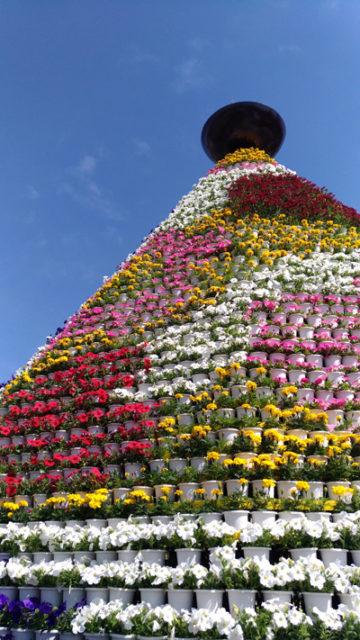 2017年フラワーフェスティバル花の塔