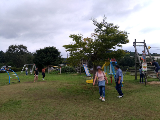 大豊農園の公園