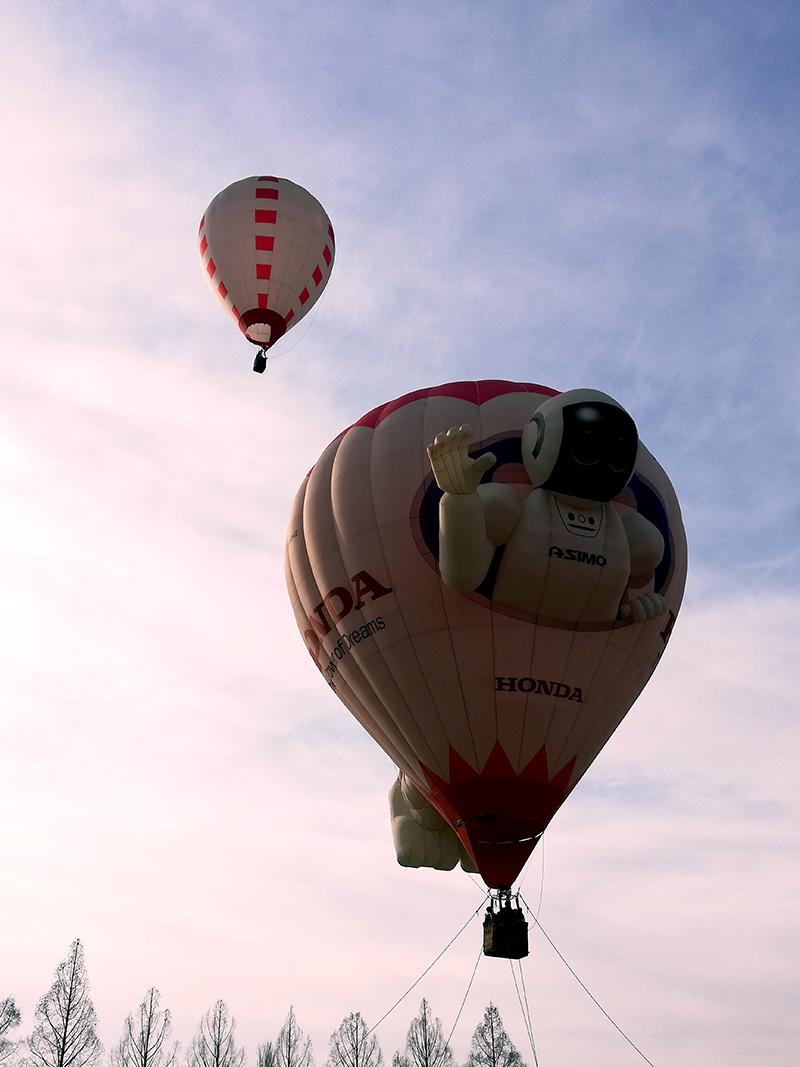 熱気球×熱気球=最高