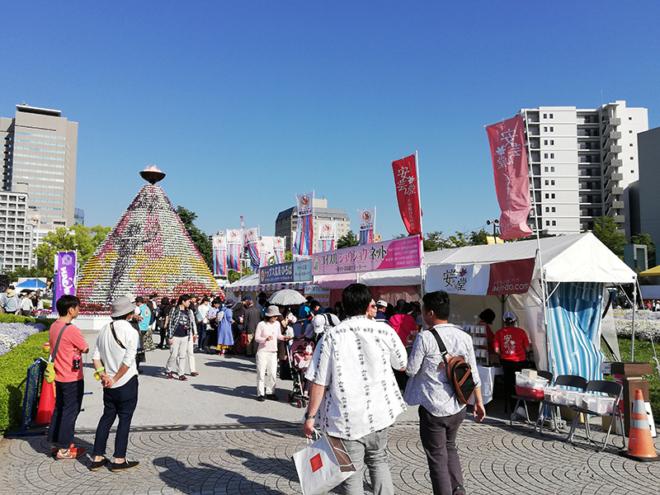 令和元年のフラワーフェスティバルは快晴!