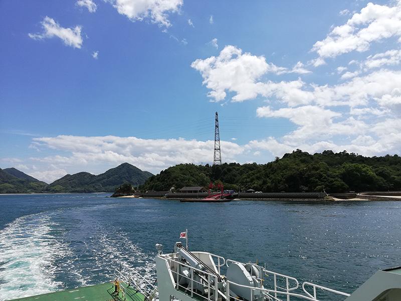 さらば大久野島。また来るよ。
