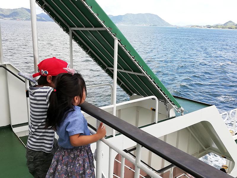 さらば大久野島。うさぎさんたちにまた会いに来るよ。