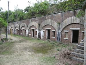 中部砲台跡。wikiより