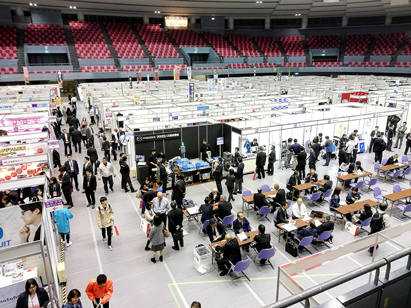 第14回ひろしまビジネスフェア2019の風景