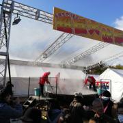 2020ひろしまフードスタジアム冬の陣に行ってきました!超巨大牡蠣鍋はすごい行列!