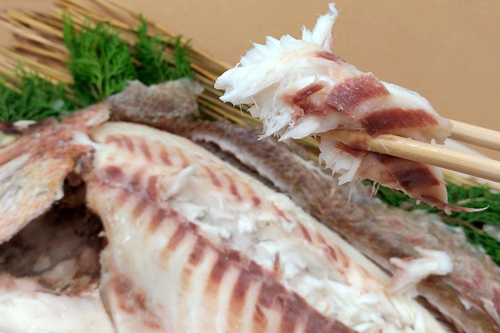 肉厚で美味しい真鯛の浜焼